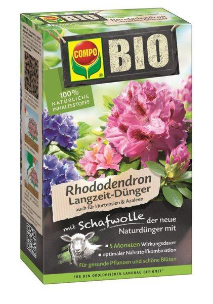 Compo Bio Rhododendron Langzeitdünger, 750 g