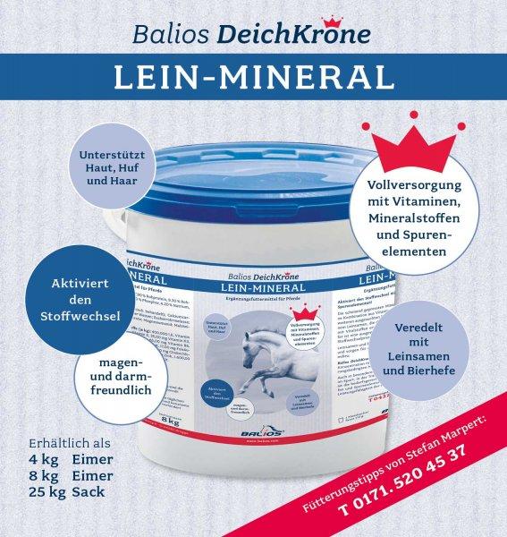 Balios Best Mineral für Pferde, 25 kg