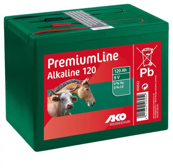 Kerbl Ako Batterie Alkaline 120 Ah, 9 V