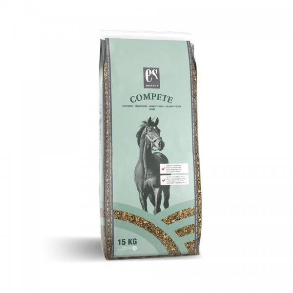 Equsana Compete Vollwertfutter für Pferde, 15 kg