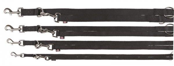 Trixie Premium V-Leine, Größe XS-S, 2,00 m, 15 mm, schwarz