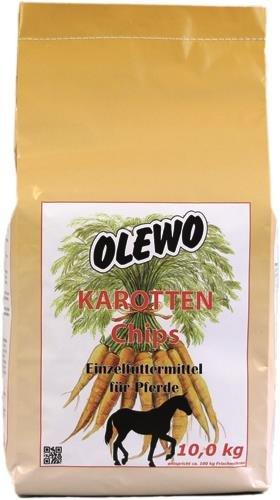 Olewo Karotten-Chips für Nager, 10 kg