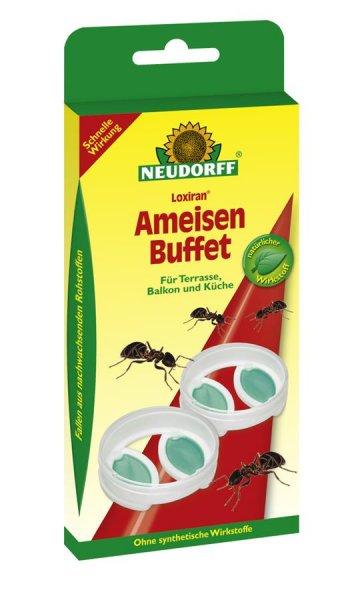 Neudorff Loxiran Ameisenbuffet, 2 St.