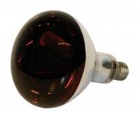 Kerbl Infrarotlampe, 250 W, Hartglas, rot