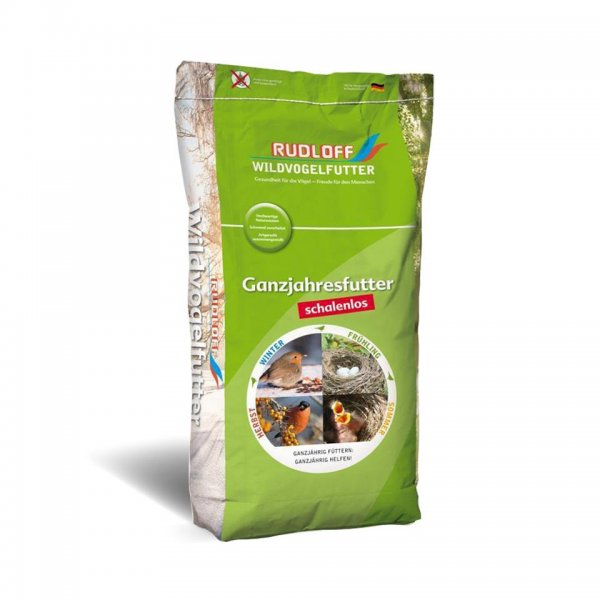 Rudloff Wildvogelfutter Energy schalenlos, 10 kg