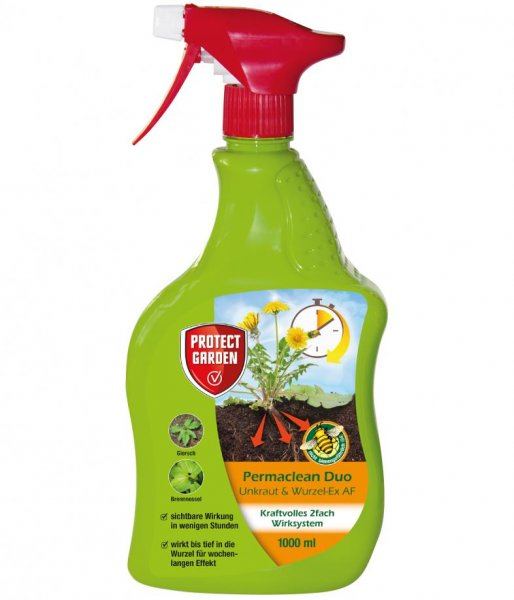 Protect Garden Permaclean Duo Unkraut & WurzelEx AF, 1ltr.