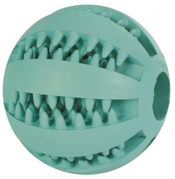 Trixie Denta Fun Baseball, Mintfresh, Naturgummi, 7 cm