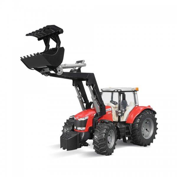 Bruder Massey Ferguson Traktor 7624 mit Frontlader