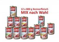 12 x 800 g Rinti Dosen Kennerfleisch selbst mixen