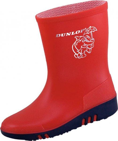 Dunlop Kinder Freizeit- und Outdoorstiefel Mini, rot