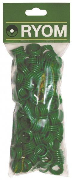 Ryom Spiralringe grün 16 mm, 100 St.