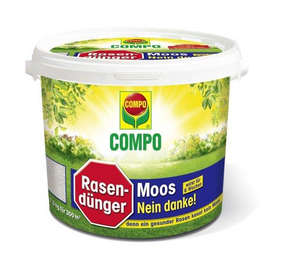 Compo Rasendünger Moos-Nein danke!, 7,5 kg
