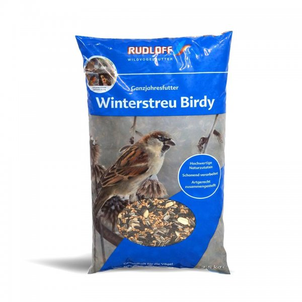 Rudloff Winterstreufutter Birdy für Wildvögel, 2,5 kg