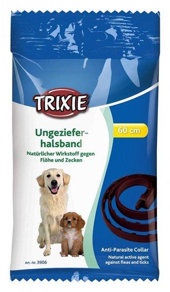 Trixie Natürliches Ungezieferband, Hund, 60 cm, braun