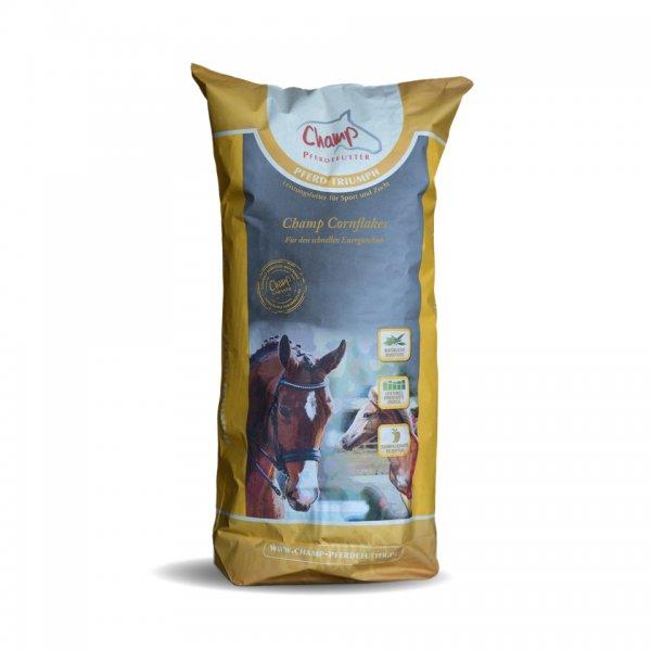 Champ Maisflocken Corn Flakes für Pferde, 15 kg