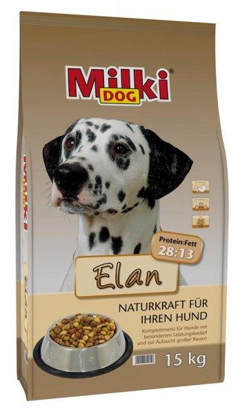 Milki Dog® Elan, Hundetrockenfutter, 15 kg