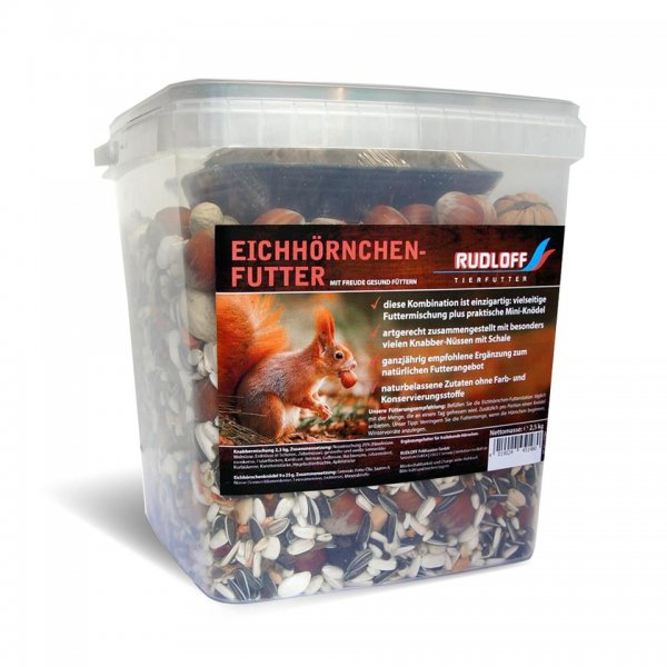 Rudloff Eichhörnchenfutter, 2,5 kg