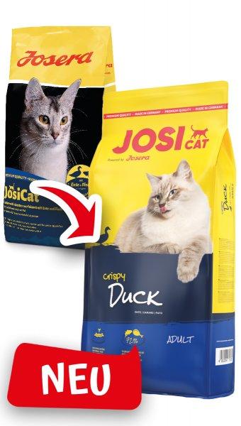 Josera JosiCat Crispy Duck, 10 kg
