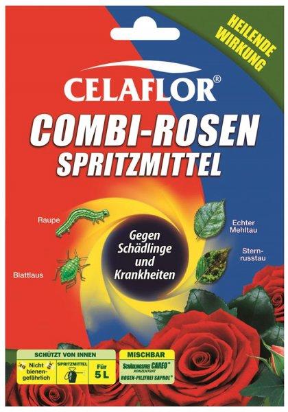 Celaflor Combi-Rosenspritzmittel, 4x 25 ml