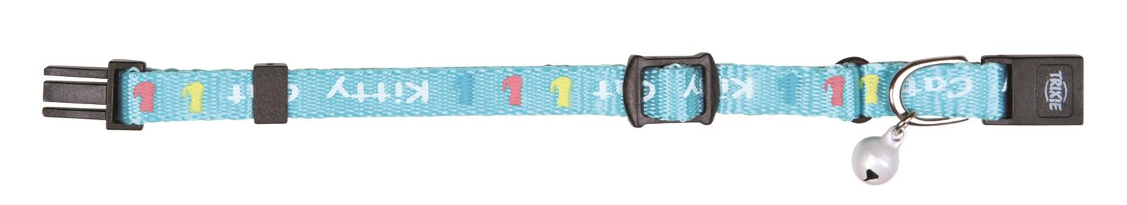 10 x Halsband aus teiltransparentem Kunststoff ** Farbe Klar ** mit Karabinerverschlu/ß