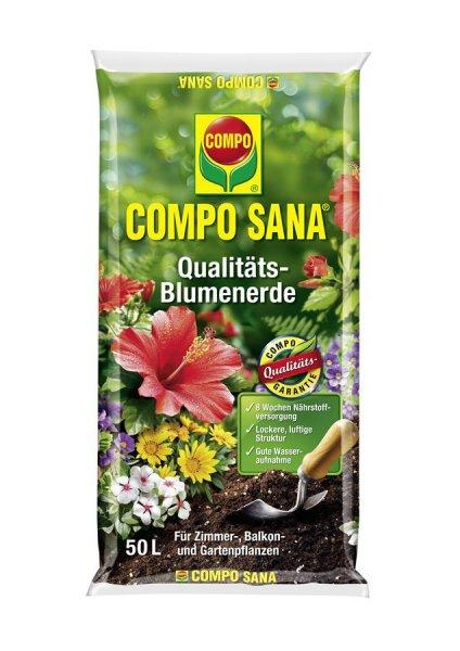 Compo Sana Qualitäts-Blumenerde, 50 l