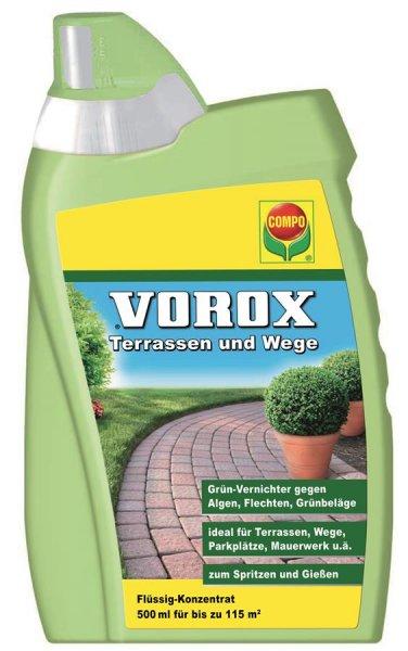 Compo Vorox Terrassen und Wege, 500 ml