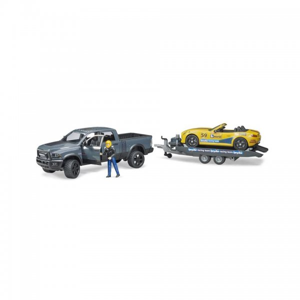 Bruder RAM 2500 Power Wagon & Roadster