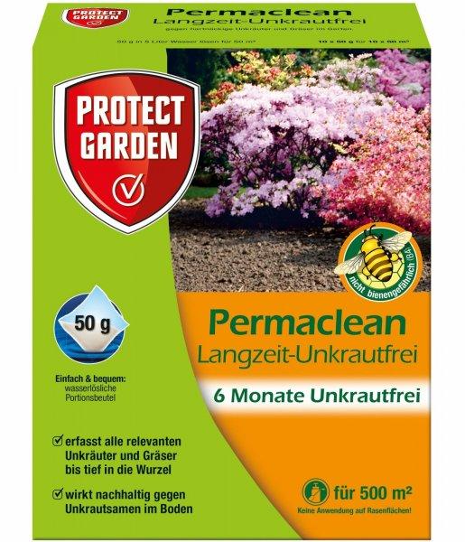 Protect Garden Langzeit-Unkrautfrei Permaclean, 10x 50 g