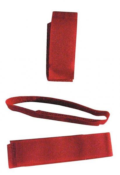 Ryom Fesselband mit Klettverschluss rot, 10 St.