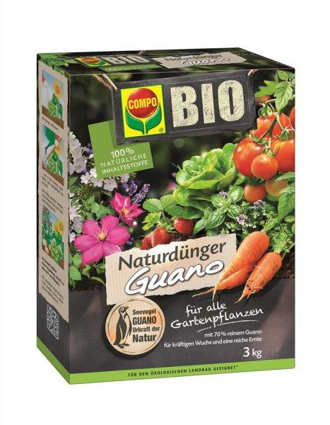 Compo Bio Naturdünger Guano, 3 kg