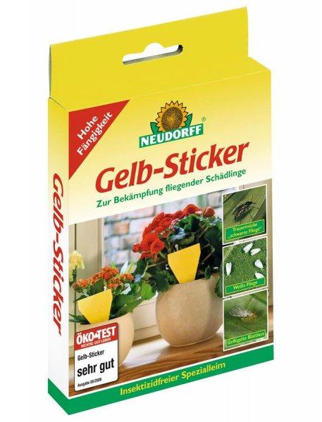 Neudorff Gelb-Sticker, 10 St.