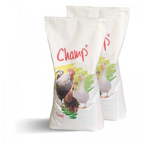 Champ Geflügelkörnerfutter Hühnerfutter im Doppelpack, 2x 15 kg