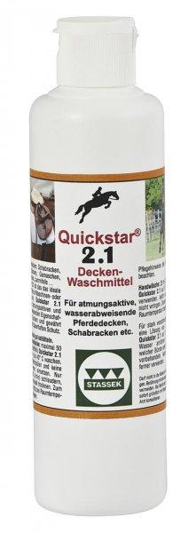 Quickstar 2.1, Premium Waschmittel für Pferdedecken, 250 ml