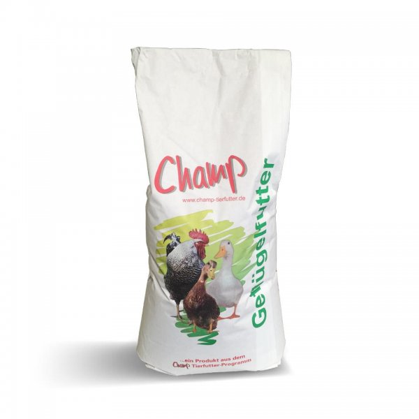 Champ Geflügel Universalfutter II ab 3. Lebenswoche GVO-frei, 25 kg