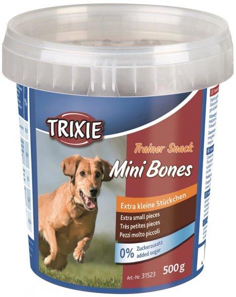 Trixie Trainer Snack Mini Bones für Hunde, 500 g