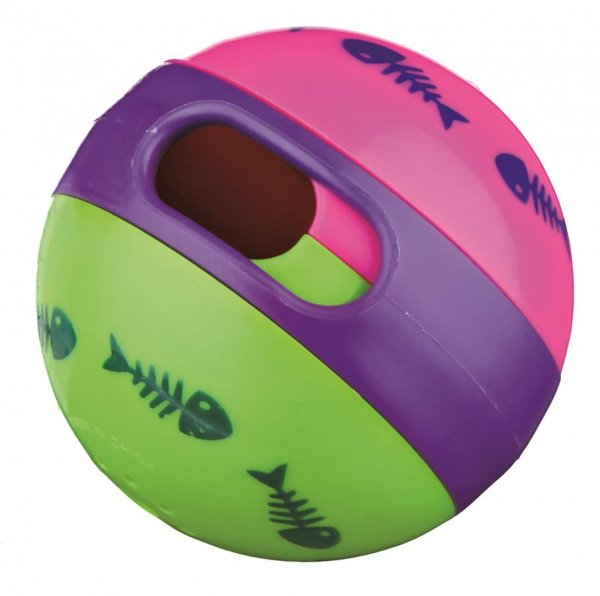 Trixie Cat Activity Snackball, Kunststoff für Katzen, 6 cm