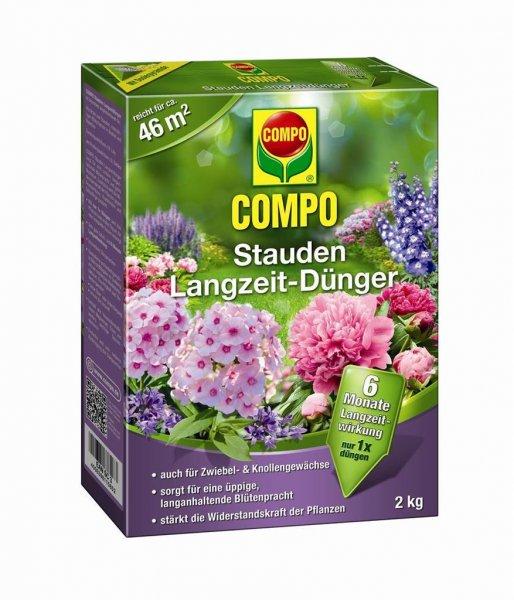 Compo Stauden Langzeit-Dünger, 2 kg