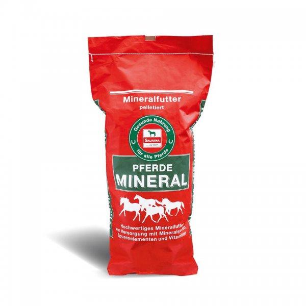 Salvana Pferdemineral Mineralfutter für Pferde 25 kg