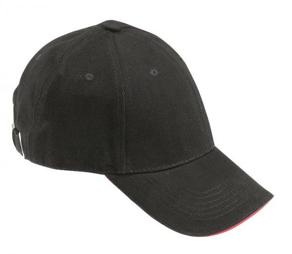 FHB Cap Udo uni, schwarz