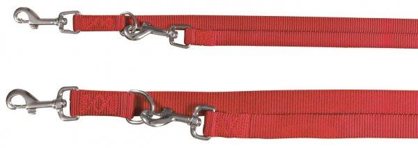 Trixie Premium V-Leine, Größe XS-S, 2,00 m, 15 mm, rot