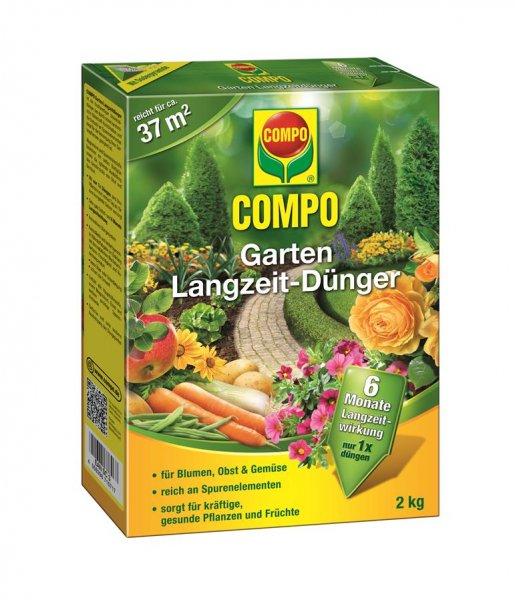 Compo Garten Langzeit-Dünger, 2 kg