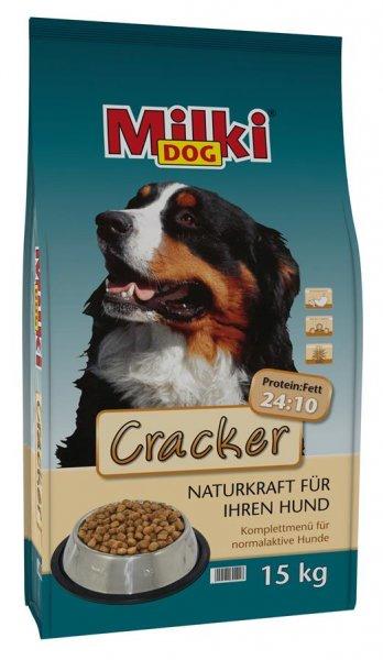 Milkivit Milki Dog® Cracker Hundetrockenfutter, 15 kg