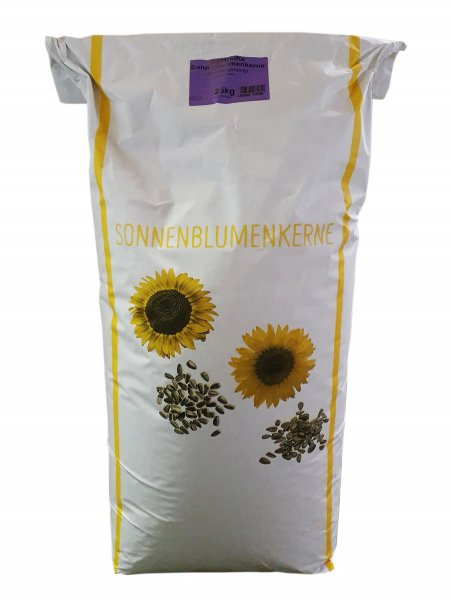 Rudloff Sonnenblumenkerne für Wildvögel, gestreift 2-fach gereinigt, 25 kg