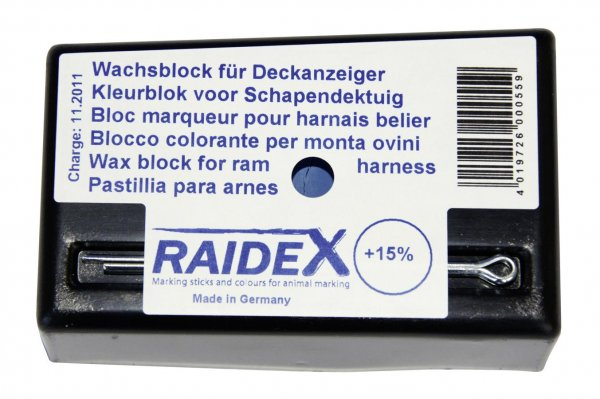 Kerbl Kreide blau, original Raidex