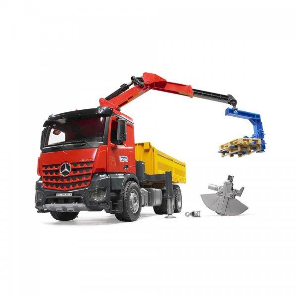 Bruder Mercedes Benz Arocs Baustellen-LKW