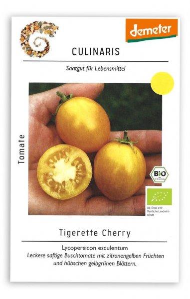 Culinaris Buschtomate Tigerette Cherry, 20 Korn