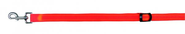 Trixie Flash V-Leine, Größe S-XL, 0,85-1,60 m, 25 mm, signalorange