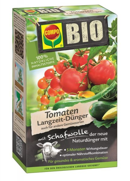 Compo Bio Tomaten Langzeitdünger, 750 g