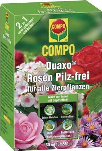 Compo Duaxo Rosen Pilz-frei für alle Zierpflanzen, 130 ml