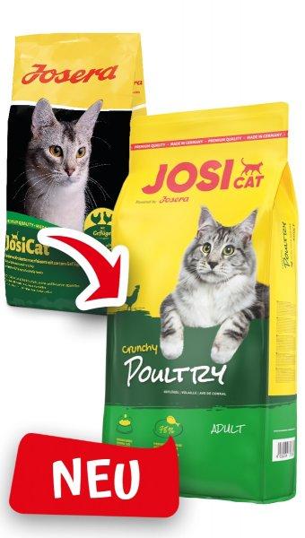 Josera JosiCat Crunchy Poultry, 10 kg